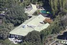 The Malibu rental is a 4,409 square-foot home and has five beds and five baths. Photo / Splashnews.com
