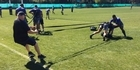 Watch: Radio Sport's Nigel Yalden on tour with the All Blacks in Argentina