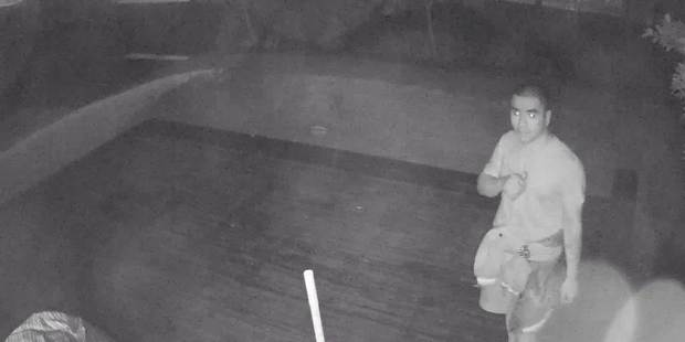 CCTV footage of a man who allegedly burgled a Pakuranga home on Friday morning. PHOTO / SUPPLIED