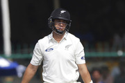 Ross Taylor was run out for the seventh time in tests. Photo / AP