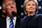 Donald Trump and Hillary Clinton will face off in a critical debate. Photo / AP