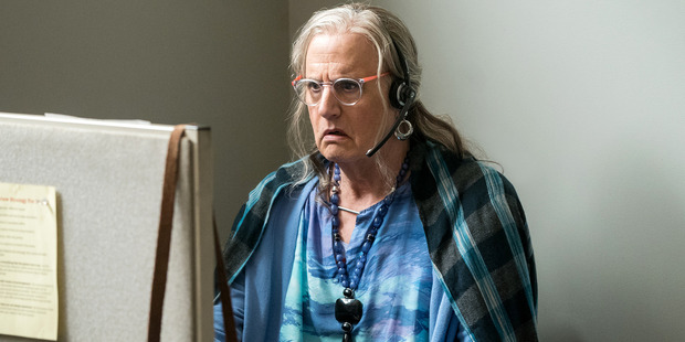 Jeffrey Tambor as Maura Pfefferman in Season 3 of Transparent. Photo / Amazon Studios