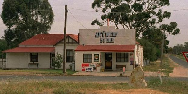 The old Antwerp store no longer operates in the tiny outback town which lay half way between Adelaide and Melbourne. Photo / News Corp Australia