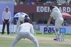 Source: SKY Sport. India's bowlers seized on variable bounce, skidding pace and a lack of NZ batting confidence to dominate the second day of the second test in Kolkata.