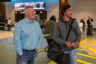 Australian rugby league superstar Johnathan Thurston at Auckland Airport. Photo / Photosport