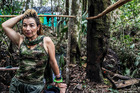 Yurluey Mendoza, 33, is a FARC fighter who joined the rebels at age 14. Photo: The Washington Post / Joao Pina
