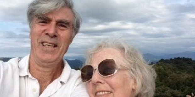 Brian Priest and Jane Lawrence have rekindled their relationship after 55 years apart. Photo/supplied