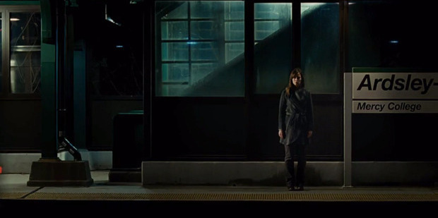 A scene from the film The Girl on the Train.