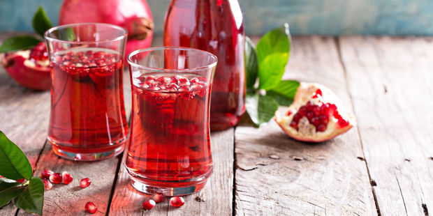 According to several studies, even consuming a very small amount of pomegranate juice each day could slow the progression of prostate cancer. Photo / 123RF