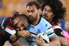 Sam Tagataese has been confirmed in Cronulla's side for tonight's NRL Grand Final. Photo / Photosport