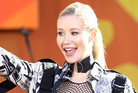 Iggy Azalea was set to release Digital Distortion in July - until she discovered Young had been cheating on her. Photo / AP