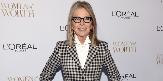 Diane Keaton arrives at the Ninth Annual Women of Worth Awards hosted by L'Oreal Paris at The Pierre hotel on Tuesday, Dec. 2, 2014, in New York. (Photo by Evan Agostini/Invision/AP) BTG 06Jan15 -