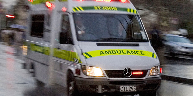 A car rolled down the street after a Wellington party last night and hit several people. Photo / File