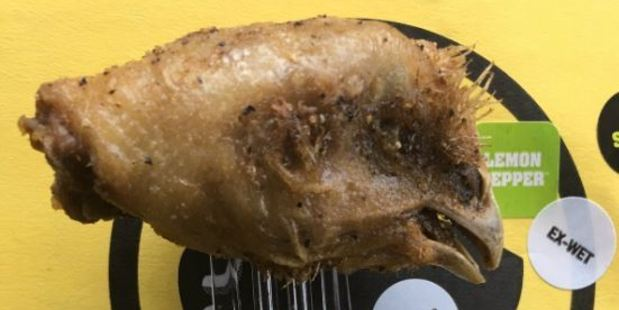 Green Packers' tight end Jared Cook got an interesting surprise when he ordered some chicken wings from a fast food restaurant in America. Photo / Twitter