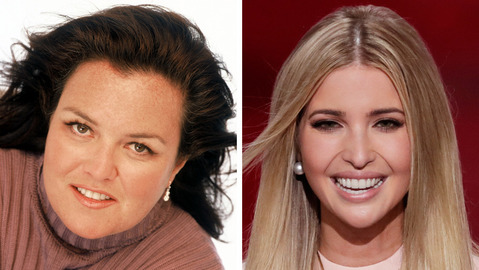 Rosie O'Donnell on chance meeting with Ivanka: 'Thank u 4 listening'