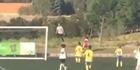 Watch: Watch: Cristiano Ronaldo plays ball-boy for son's team