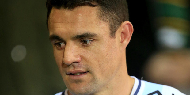 French newspaper Lequipe is reporting that former All Black Dan Carter failed a drug test following a Top 14 French rugby clash. Photo / Photosport.co.nz
