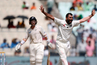 Mohammed Shami was a key architect in New Zealand's demise. Photo/AP