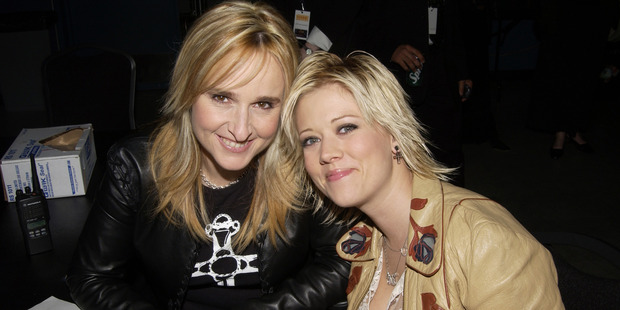 Melissa Etheridge and Tammy Lynn Michaels during The 13th Annual GLAAD Media Awards. Photo / Getty