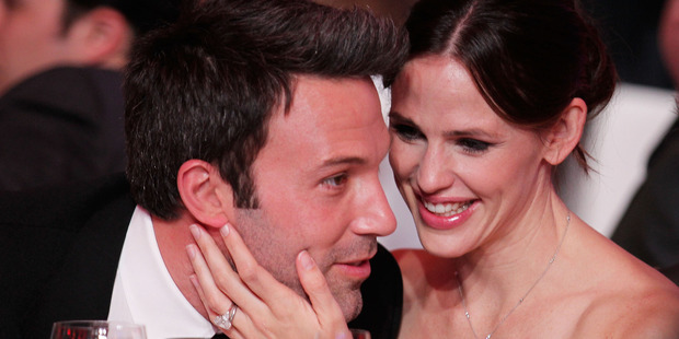 Actor Ben Affleck and actress Jennifer Garner pose during the 16th annual Critics' Choice Movie Awards at the Hollywood Palladium on January 14, 2011. Photo / Getty