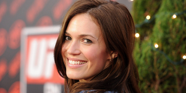 Actress Mandy Moore stars in NBC's new TV show This is Us. Photo / Getty