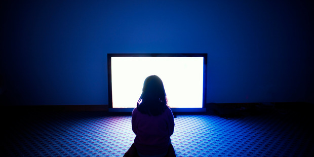 Kids watching TV, in moderation, is not a problem.