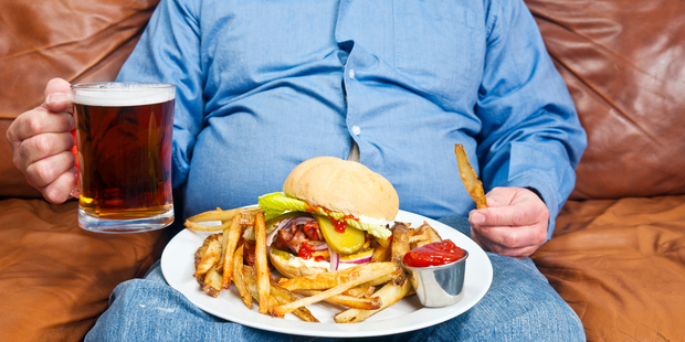 The research on almost 200 countries found that increases in life expectancy are being eroded by the global obesity crisis. Photo / Getty Images