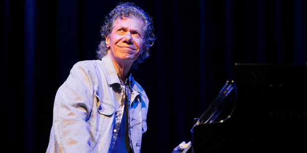 Chick Corea performs on stage at Halic Congress Center for the 21st Istanbul Jazz Festival. Photo / Getty