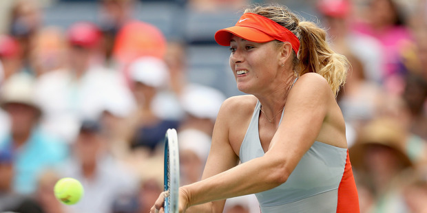 Maria Sharapova during the 2014 US Open. Photo / Getty Images