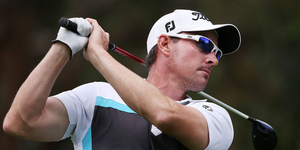 Gareth Paddison during the Australian Masters. Photo / Getty Images