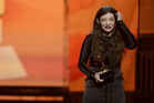 Lorde made NZ music history when she won two Grammy Awards in 2014. Photo / Getty