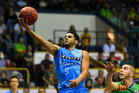 Corey Webster attempts a layup against the Townsville Crocodiles. Photo / Getty Images