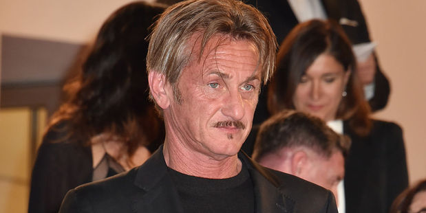 Sean Penn has been snapped getting hot and heavy on a Hawaii beach with Leila George, the 24-year-old daughter of Law and Order actor Vincent D'onofrio. Photo / Getty Images