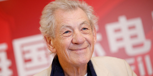 Joe Stephenson is directing the project, named McKellen: Playing The Part, and managed to conduct 14 hours of interview time with Sir Ian McKellen. Photo / Getty Images