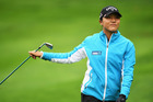 Lydia Ko during the third round of The Evian Championship. Photo / Getty Images