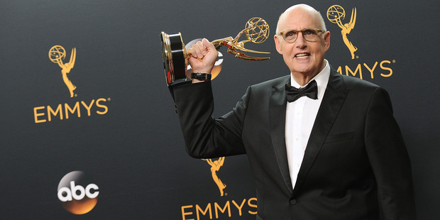 Jeffrey Tambor poses in the press room at the 68th annual Primetime Emmy Awards at Microsoft Theater on September 18, 2016 in Los Angeles, California. Photo / Getty