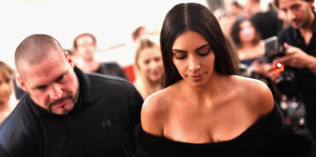 Kim Kardashian West doesn't blame her bodyguard Pascal Duvier for the attack. Photo / Getty