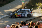 Sebastien Ogier during Day One of the WRC France. Photo / Getty Images