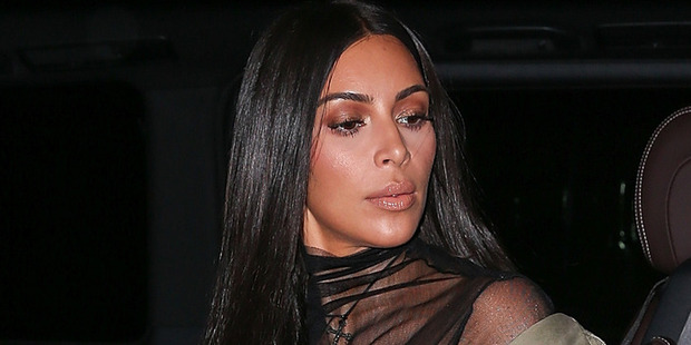 Kim Kardashian turned plenty of heads with her latest risque outfit. Photo / Getty Images