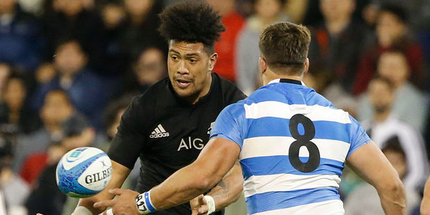 Ardie Savea had another strong game for the All Blacks. Photo / Getty