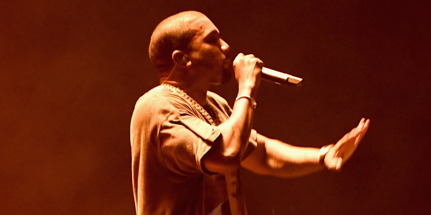 Loading Kanye West performs onstage during The Meadows Music & Arts Festival Day 2 on October 2, 2016 in Queens, New York. Photo / Getty