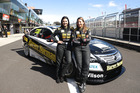 Simona De Silvestro and Renee Gracie of the Harvey Norman Supergirls Team. Photo / Getty Images