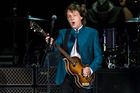 PHILADELPHIA, PA - JULY 12: Singer-songwriter Sir Paul McCartney performs during the 'One On One' tour at Citizens Bank Park on July 12, 2016 in Philadelphia, Pennsylvania. (Photo by Gilbert Carrasq