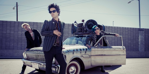 American punk rock band Green Day are coming to New Zealand next year. Photo / Frank Maddocks