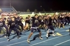 Middleton High School's football team in Idaho performed a haka after their game. The footage was posted to Facebook and has drawn angry reactions from Kiwi's.