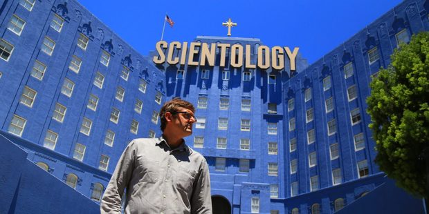 Loading Louis Theroux in his new documentary My Scientology Movie