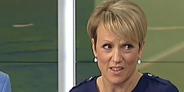 Breakfast TV presenter, Hilary Barry.