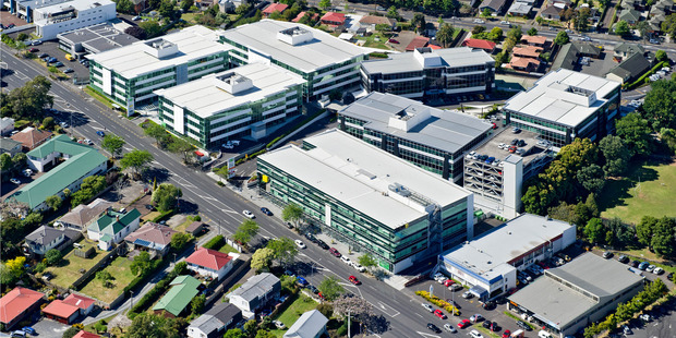 The Millenium Centre business park contains seven offices in over three hectares. Photo / Supplied
