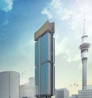 The proposed NDG tower.