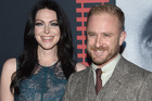 Laura Prepon and Ben Foster are engaged afetr dating since July. Photo / AP
